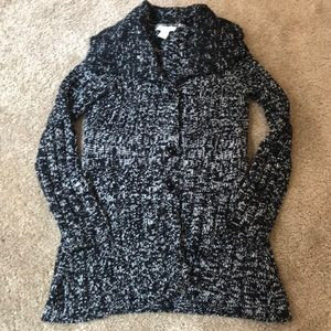 Button up sweater